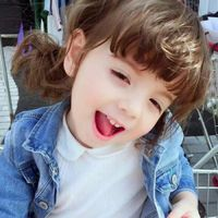 可爱小女孩微信头像欧美风 萌萌的欧美女孩图片微信头像
