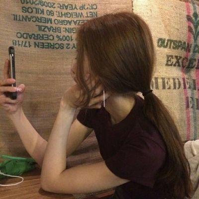 简单又好看的女生微信头像侧脸大全 耐看有气质的女生微信头像