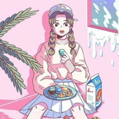 最流行的女生动漫微信头像超萌可爱 卡哇伊女生动漫头像