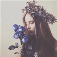 我有我的梦想,你有你的心事 侧面森系美女头像