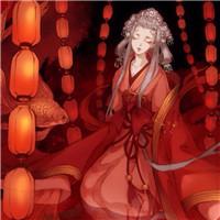 古风头像女生红衣,彼岸花古风红衣美女