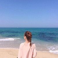 海边风景小清新女生头像大全