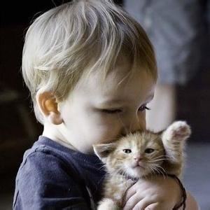 抱着宠物的欧美头像 欧美范抱着宠物头像