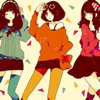 三人闺蜜头像卡通 闺蜜三人萌头像卡通