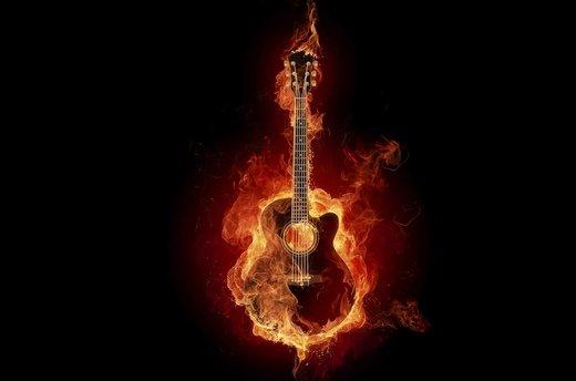 火焰意境图片