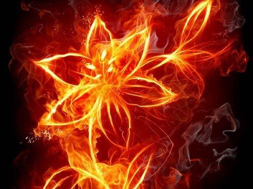 火焰意境图片_你的话让我久久不能入眠