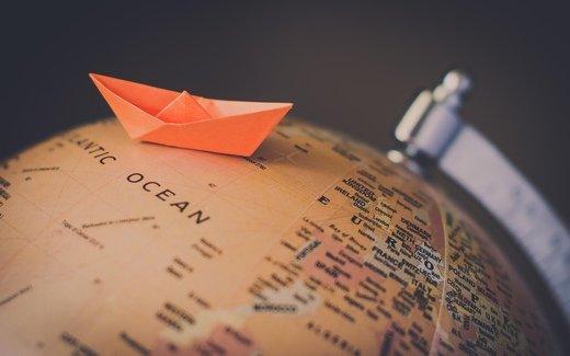 纸船意境图片_时光就让它停格在哪里吧