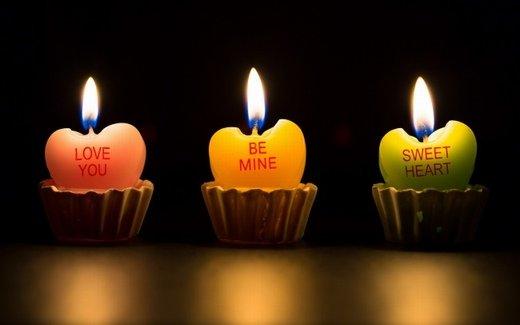 蜡烛意境图片_在宁静中静静的想你