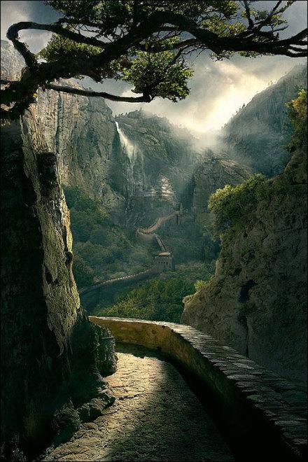 鬼斧天工的大自然 风景唯美图片