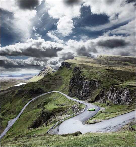 深山中的绝美风光 大自然风景唯美图片