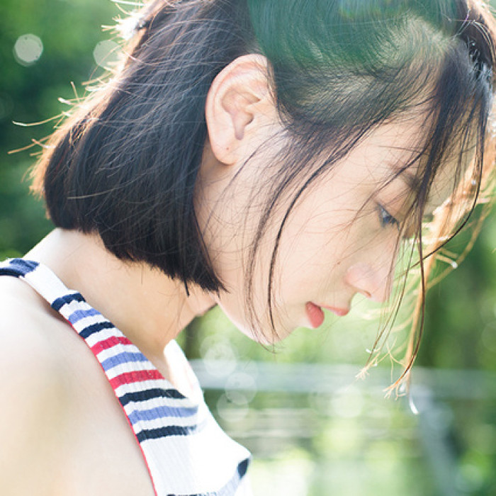 小清新女生唯美头像
