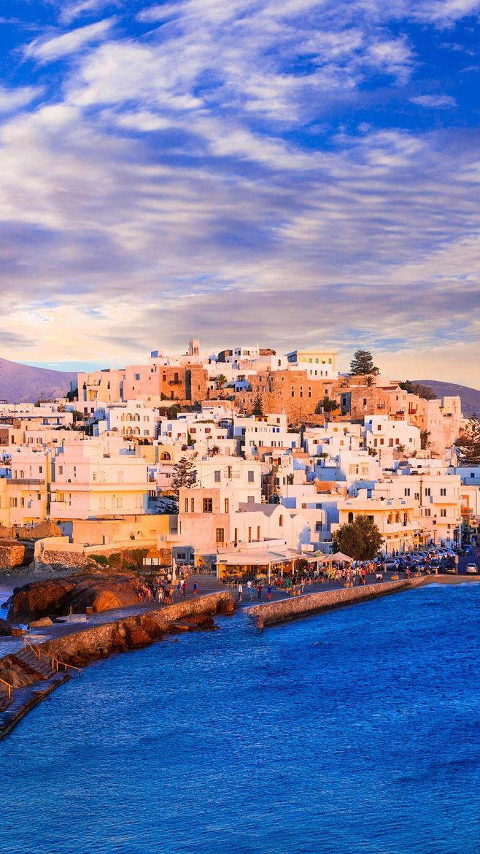 唯美风景图片,希腊,纳克索斯岛