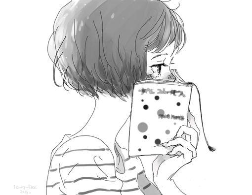 动漫手绘女生微信头像