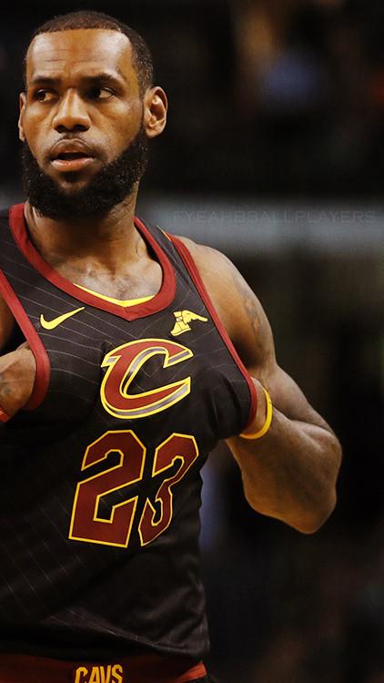 NBA球星勒布朗詹姆斯高清手机壁纸一