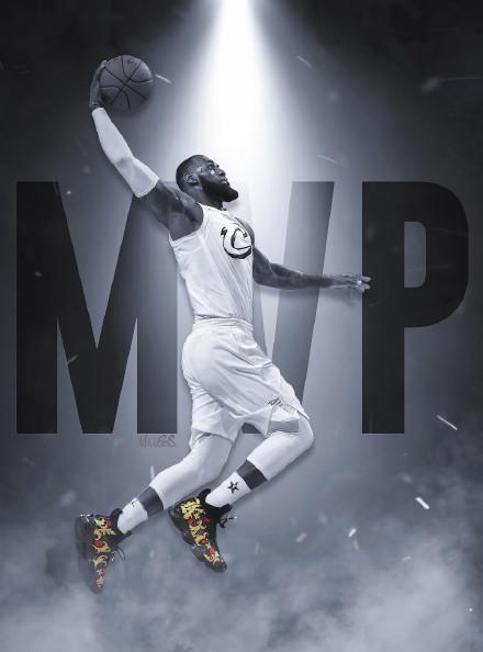 NBA球星勒布朗詹姆斯高清手机壁纸二