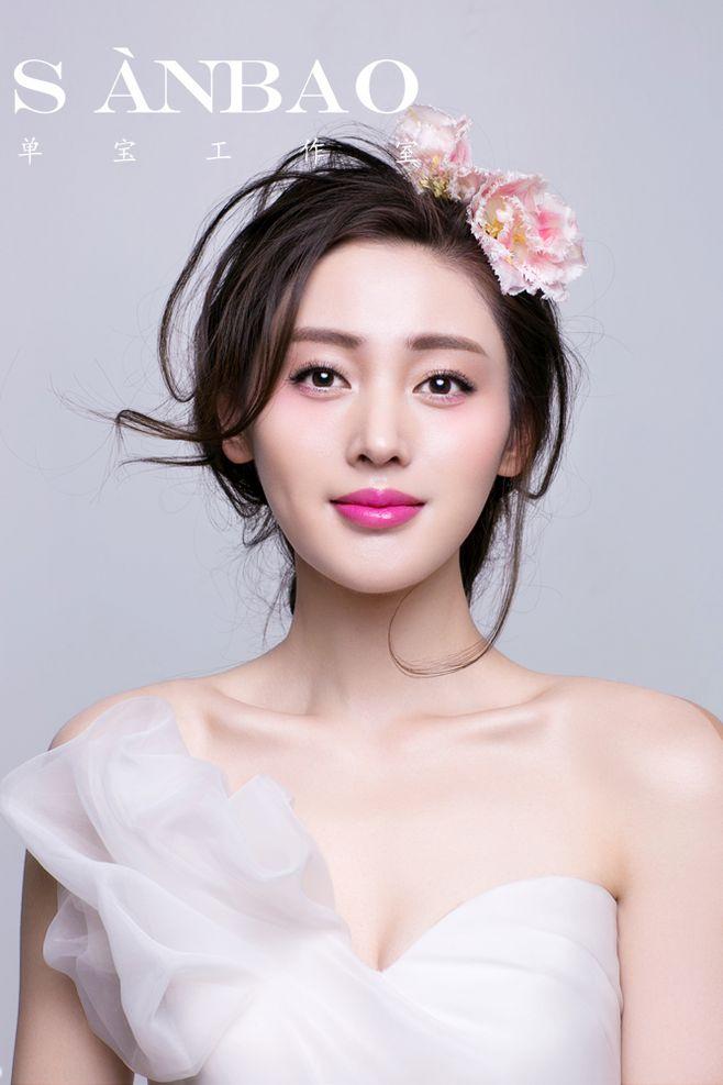优雅新娘妆 化妆造型