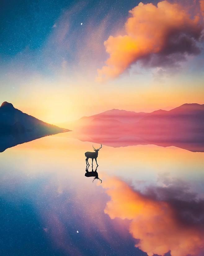 天空之境,唯美意境图片