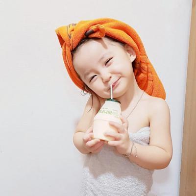 萌萌哒的小女孩可爱萌娃微信头像