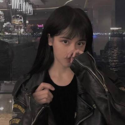 时尚热门原宿风的女生头像