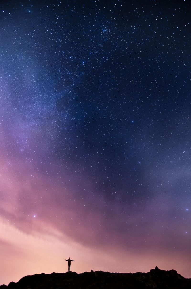 唯美壮丽的星空美图图片5P