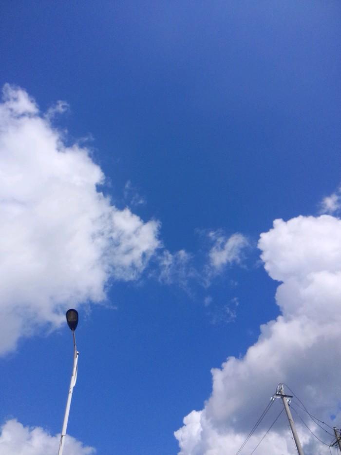 爱就像蓝天白云 晴空万里