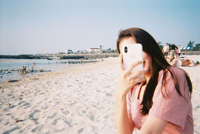 郑多彬海边漂亮图片