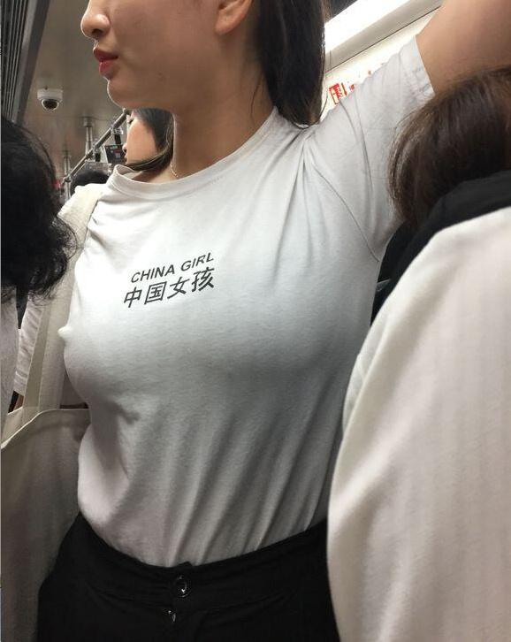 中国女孩特写