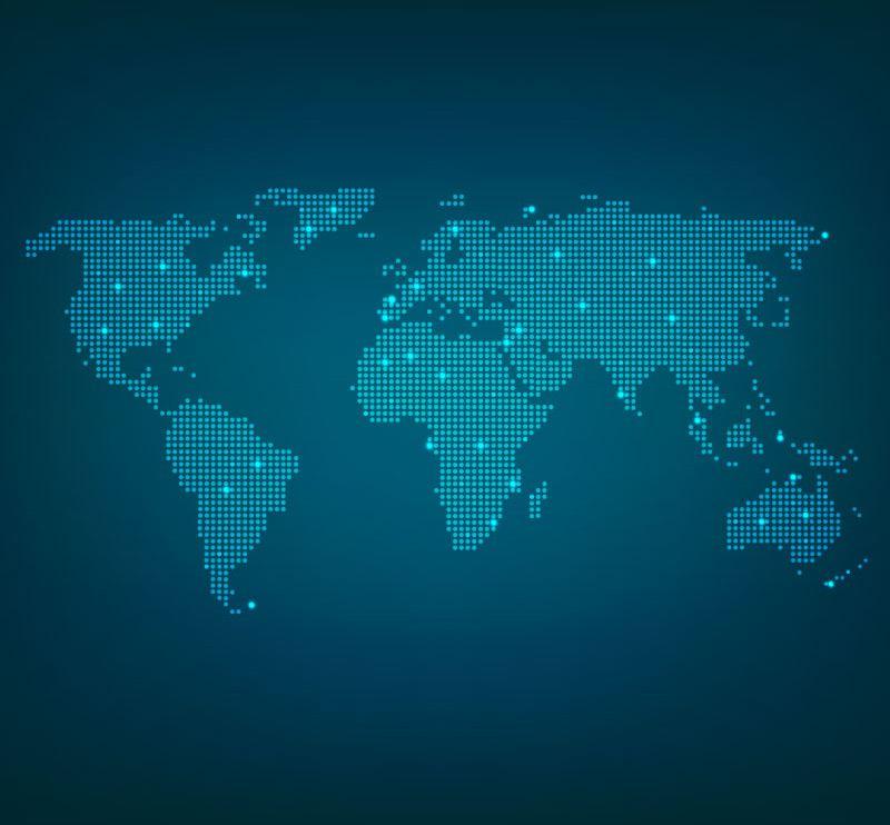 世界地图板块图片高清素材2