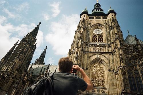 欧美的城市建筑群风光美图