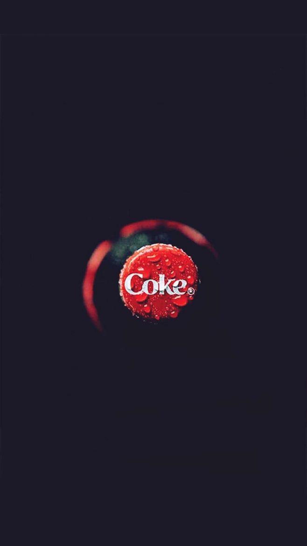 可口可乐高清简约手机壁纸