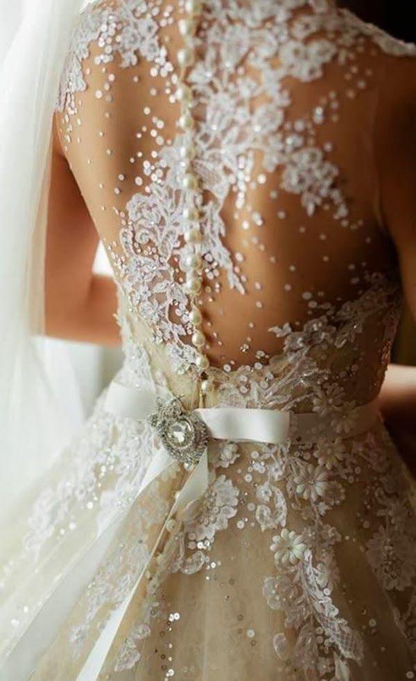 欧美婚纱图片细节,完美的婚纱