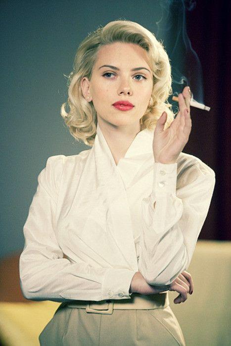 欧美图片,时尚抽烟的女生图片