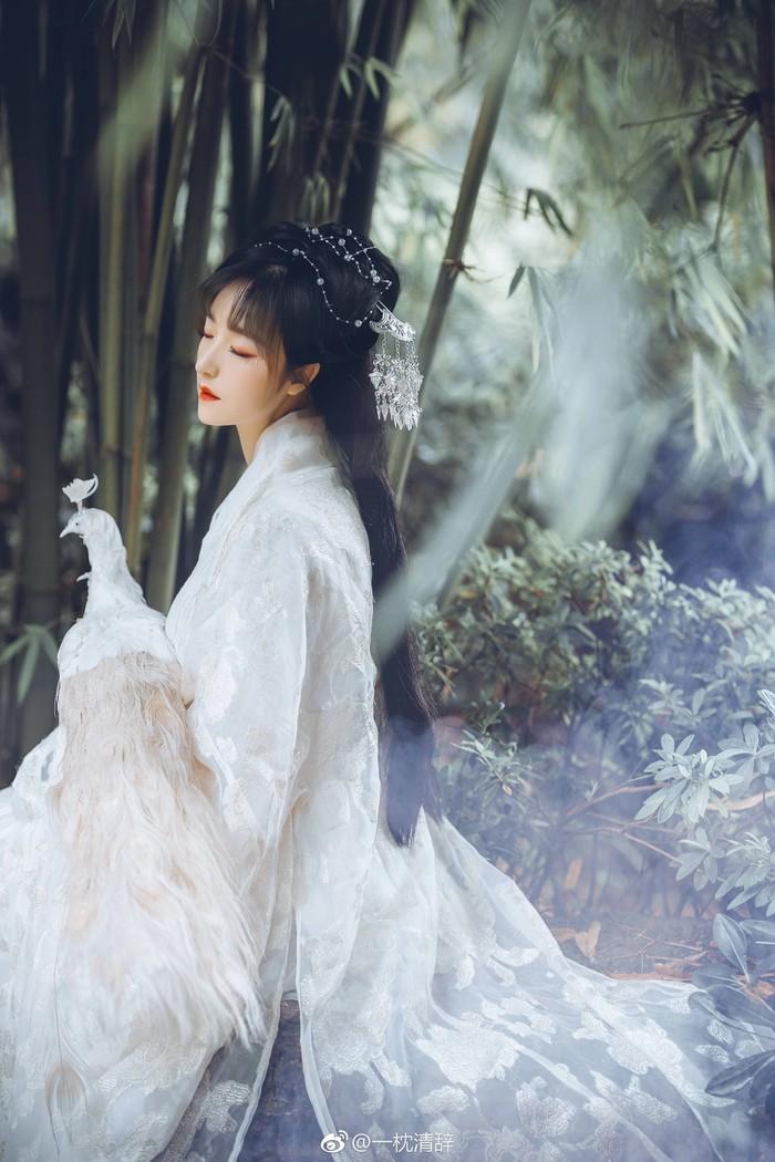 雀灵,汉服,中国风意境图片
