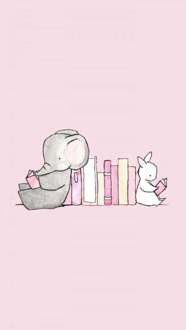 粉色系pink少女心壁纸 扑通扑通少女心