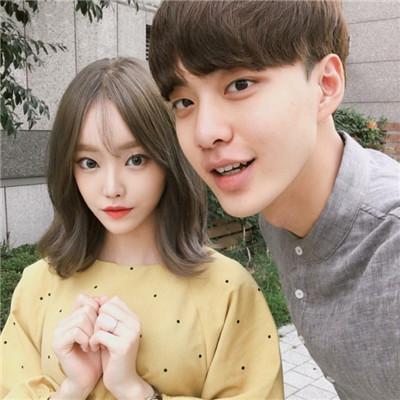 韩国森系风格情侣头像2018精选 玩什么暧昧有种咱直接恋爱