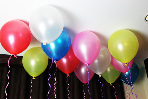 小清新可爱气球图片大全