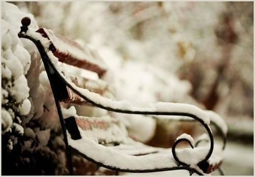 一起来聆听那雪落的声音_唯美纯净的QQ空间素材
