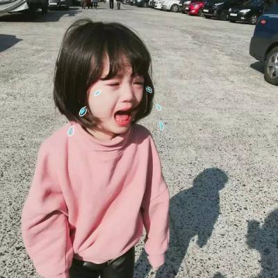 最新微信小孩头像可爱小女孩高清 越是面无表情越是心里难过