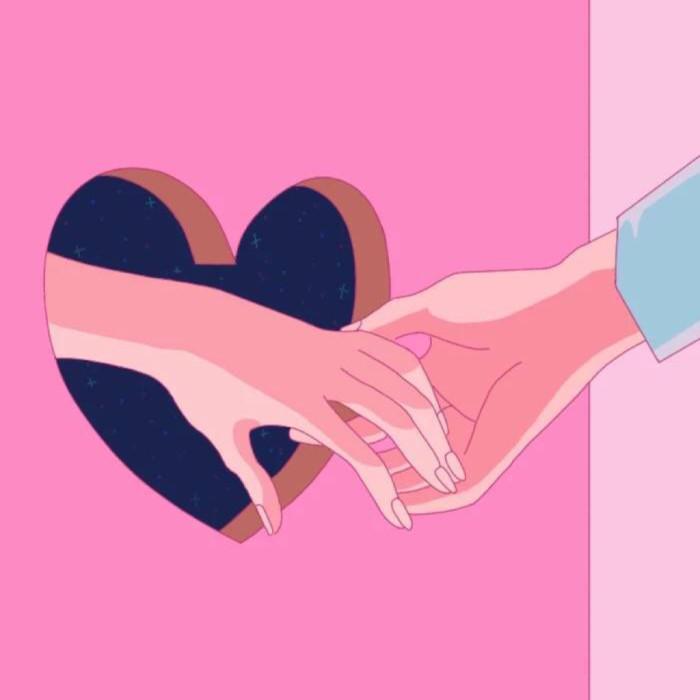 pyq朋友圈背景图,粉色封面图