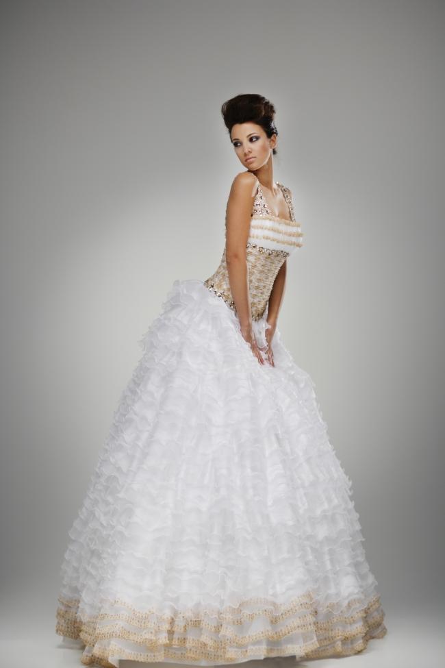 欧美图片,欧美白色婚纱照图片下载