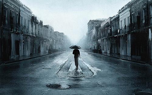 下雨天发朋友圈的句子 下雨伤感的经典心情说说
